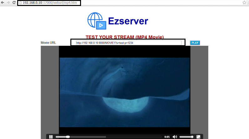 Ezhometech IPTV player, IPTV server, Video Server, VOD Server, VOD